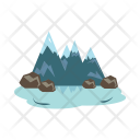 Lake Mountains Summit Icon