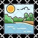 X Lake Icon