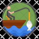 Lake Fishing Icon