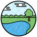 Lake View Icon