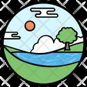 Lake View Icon