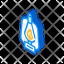Kerosene Burner Isometric Icon