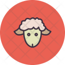 Lamb Cute Easter Icon