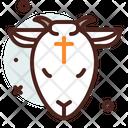 Lamb Cross Icon