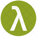 Lambda Alphabet Greek Icon