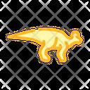 Lambeosaurus Dinosaur Color Icon