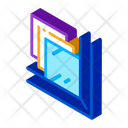 Laminated Glass Window Icon