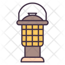 Lamp Camp Camping Icon