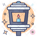 Lamp Light Candle Light Icon