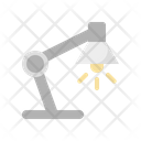Lamp Bulb Desk Icon