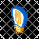 Lightbulb Lamp Isometric Icon