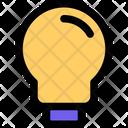 Lamp Bulb Idea Icon