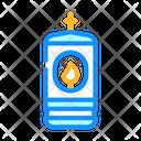Lamp Burning Candle Icon