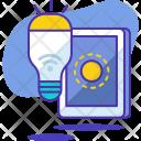 Lamp Smart Icon