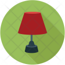 Lamp Room Bed Icon
