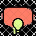 Lamp And Bag Business Idea Creative Idea Icon