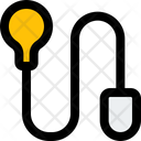 Lamp And Cable Online Idea Idea Icon