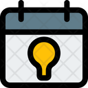 Idea Schedule Calendar Idea Icon
