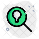 Lamp And Search Search Idea Search Icon