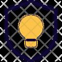 Idea Protection Idea Shield Idea Icon