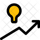 Idea Growth Finance Business Icon