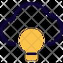 Cloud Idea Online Idea Cloud Computing Icon