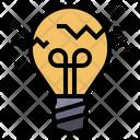 Lamp Crack Lamp Error Icon