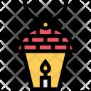 Lamp Ecology Eco Icon
