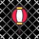 Lampion Night Lamp Light Icon