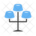Lamps Stand Icon