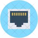 Lan Socket Internet Icon