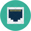 Lan Port Socket Icon