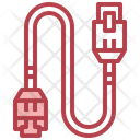 Lan Cable Lan Wire Lan Connector Icon