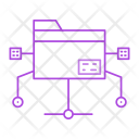 Folder Connect Archive Icon