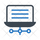 Network Connection Laptop Icon