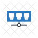 Network Connection Ethernet Icon
