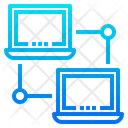 Lan Connection Network Database Icon