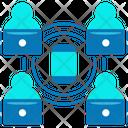 Lan Connection Remotely Work Lan Network Icon