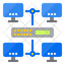 Lan Network Computer Network Local Area Network Icon