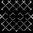 Lan Networking Icon