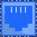 Lan Port Network Icon