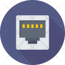 Internet Plug Lan Icon