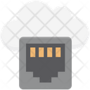 Lan Socket Broadband Network Port Icon