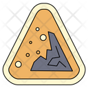 Land Sliding Sign Icon