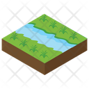 Land Landscape Forest Icon