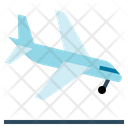 Airplane Arrival Land Icon