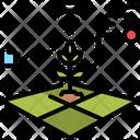 Data Ecology Growth Icon