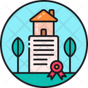 Land Ownership Property Ownership Property Partnership Icon