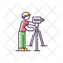 Land Surveyor Icon