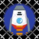 Lander Moon Rover Space Icon